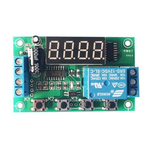 Voltage Monitor Volt Test Relay Switch Control Board Module DC 12V Tester Y1L6