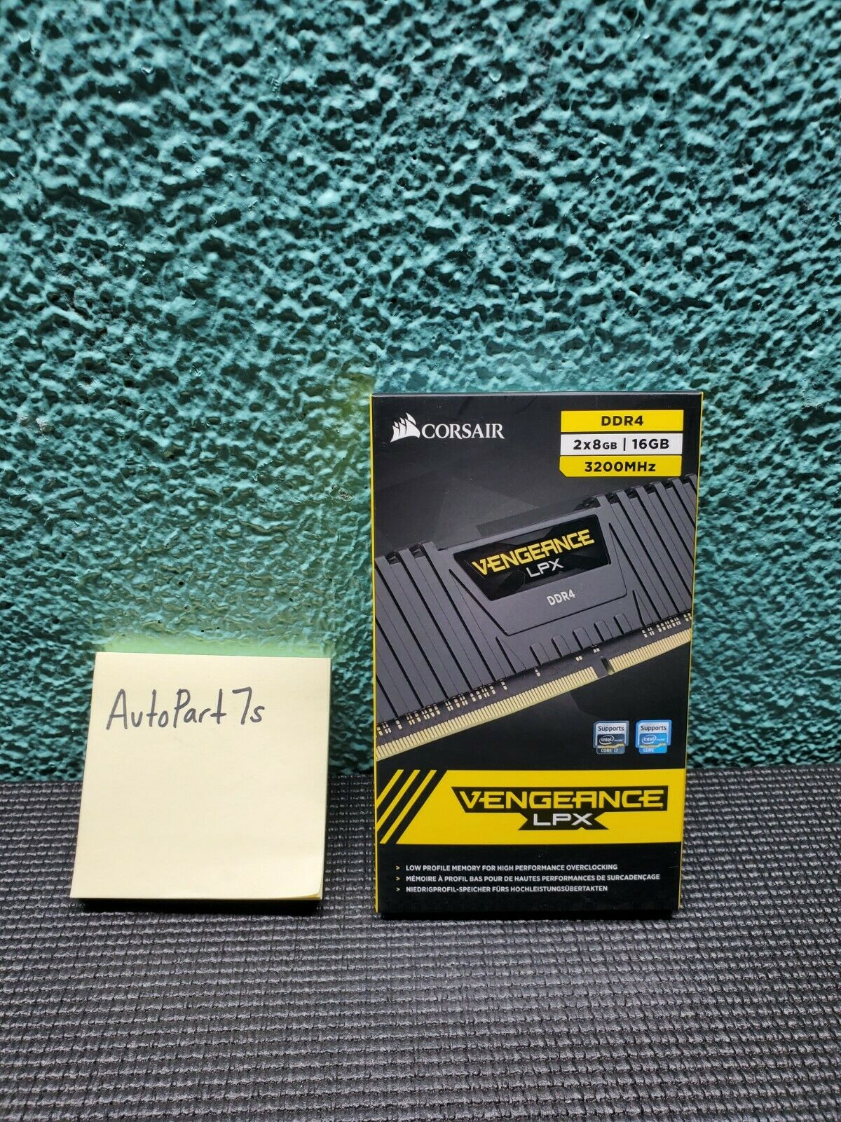Corsair Vengeance LPX 16GB (2x8GB) DDR4 3200MHz C16 Desktop Memory Kit ✅. Buy it now for 79.97