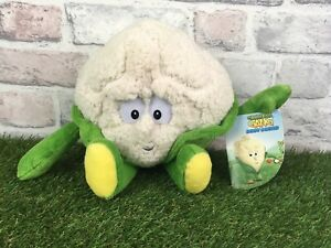 Co-op-Goodness-Gang-Fruit-amp-Vegetables-Soft-Plush-Toy-Colin-Cauliflower-Tagged