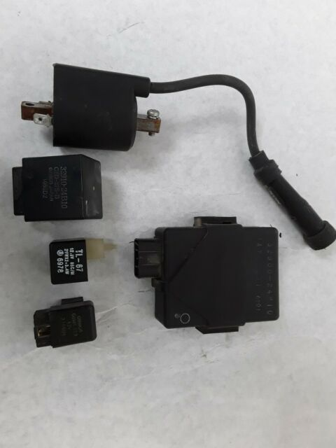 SUZUKI SAVAGE 650 LS650 CDI ECU IGNITION UNIT, COIL, RELAYS. 4K