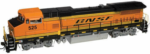 Atlas Master Series gold BNSF GE Dash 8-40BW DCC with sound - HO