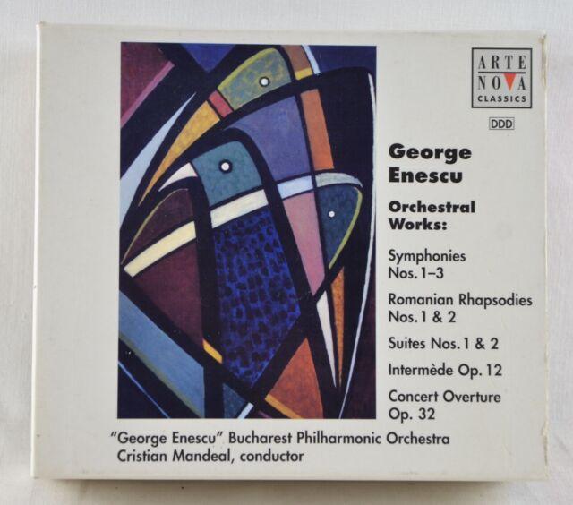 ENESCU MANDEAL - Orchestral Works: Symphonies Nos. 1-3 ... - 4 CD - Arte Nova