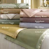 Mulberry Plush Silk Blanket - Ideal Versatile Comfort - Soft And Warm - 9 Colors