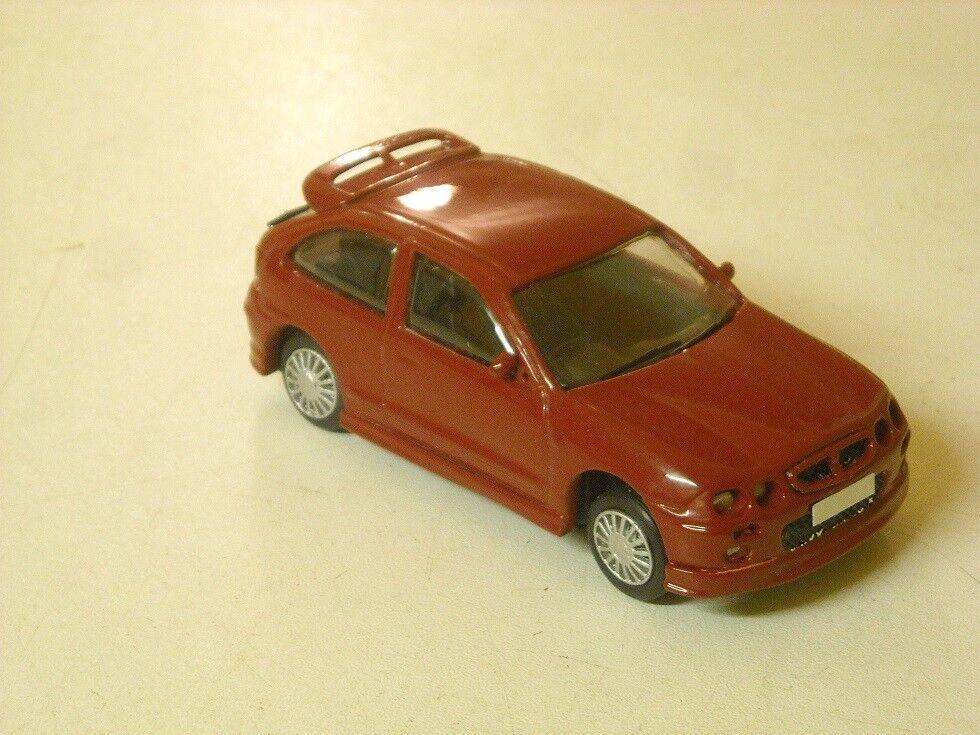 Web oficial Mg ZR 160 3 puertas construido en Rojo Rojo Rojo Solar LHD por K & R réplicas escala 1 43rd  en stock