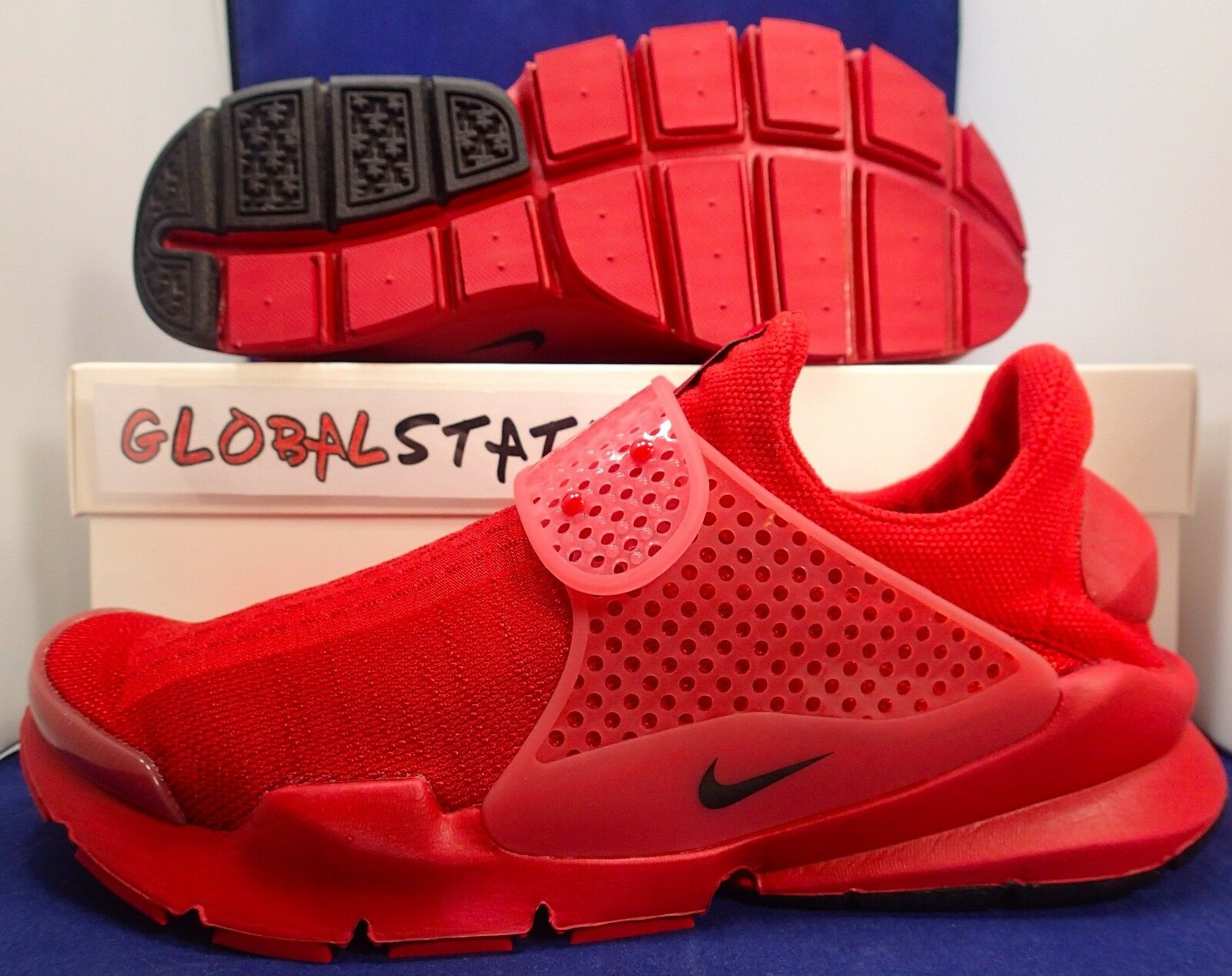 2015 NIKE SOCK DART SP INDEPENDENCE DAY VARSITY RED SHOES 686058 660 SIZE 9