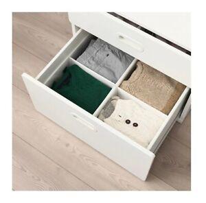 Détails Sur Ikea Rassla Armoire Tiroir De Rangement Organisateur Vêtements Case 2 Pack 25x41x16cm Afficher Le Titre D Origine