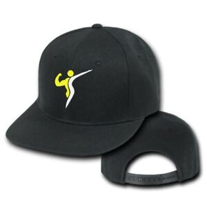Details about 10 custom embroidered SNAPBACK FLAT BILL hats caps Logo  Symbol Mascot embroidery