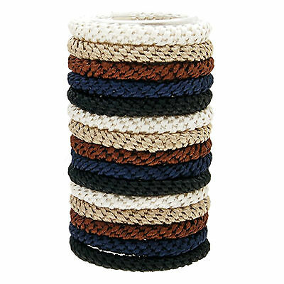 L Erickson Grab And Go Pony Tube Hair Ties In Neutral 15