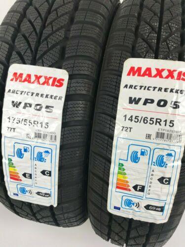 175 55 r15 PNEUMATICI invernali set di pneumatici Maxxis SMART FORTWO 450 mc01 145 65