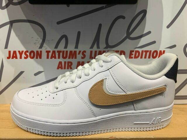 lowest price 9de3f 31bb4 Nike Air Force 1 Low Velcro Swoosh Pack Removable White Tan Size 8-13  CT2253-100