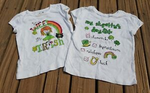 Patrick/'s Day Irish T-shirt for Toddler Girls Jumping Beans St