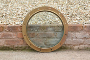 brass-bronze-ship-boat-52-5-cm-porthole-original-old-port-hole-FREE-POSTAGE