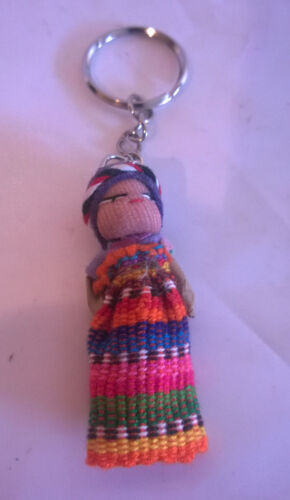 Worry Doll Key Ring Large 5cm