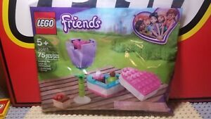Lego 30411 FRIENDS Chocolate Box /& Flower Sealed Polybag 75 Pieces