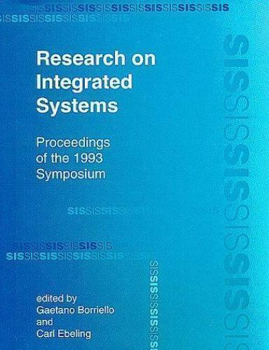 Research on Integrated Systems: Proceedings of the 1993 Symposium, , Excellent B