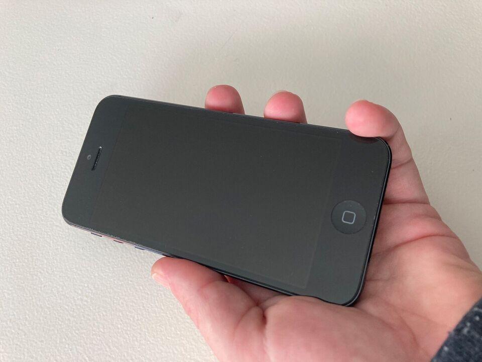 iPhone 5, 16 GB, grå