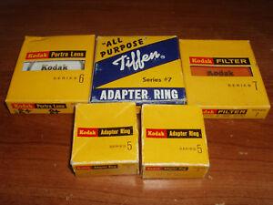 Lot-of-5-Vintage-Kodak-Tiffen-Filters