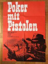 Poker mit Pistolen (Kinoplakat/Filmplakat '67) - George Eastman / Dill-Grafik
