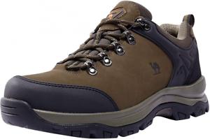 CAMEL CROWN Men's Hiking Shoes Low Top Trekking Boots Non-Slip Walking...