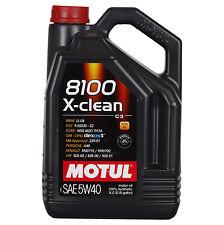 Motul 8100 X-clean 5W-40  5 Litro Barattolo