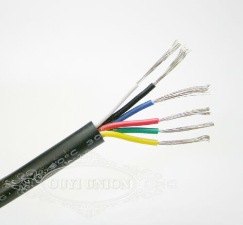 Flexible Points/&Signal Multicore Cable Small Power Data AUTO Cable CAR Wire1~10M