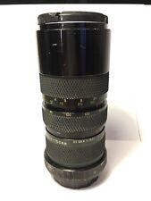 Télé-objectif SOLIGOR MC 70-150mm f/3,5 (CANON FD) ZOOM Lens