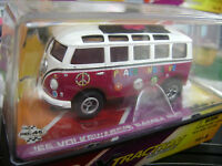 Rare Autoworld Rel 8 Xtraction 65 Vw Samba Hippie Bus Ho Slot Car Fits Tomy Afx