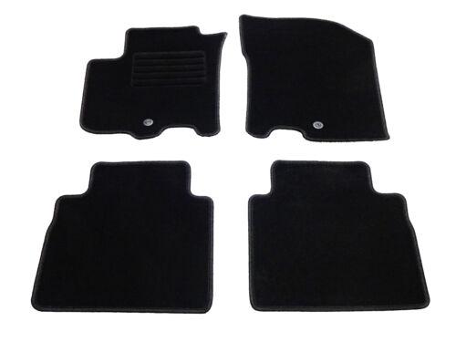 Velours Fußmatten Suzuki SX4 S-Cross Bj 10//2013 Auto Teppiche 4er Set schwarz