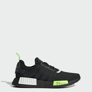 Details about New Adidas NMD R1 EF4268 - Black/ Signal Green, Running Shoes Trainers Sneakers