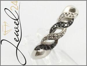 Private-Diamonds-Ring-echt-Silber-925-Sterling-rhodiniert-mit-Diamant-66-21MM