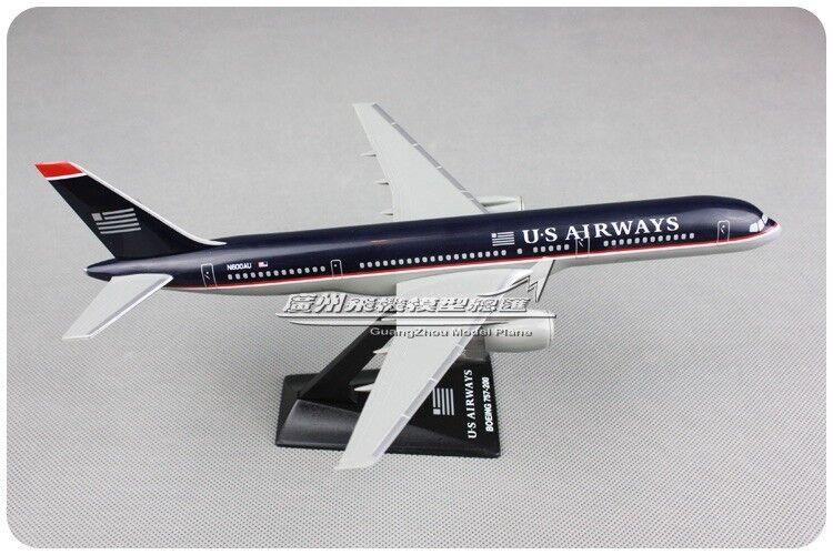 23.5CM 1 200 US Airways B757-200 Passenger Airplane ABS Plastic Assembled Model