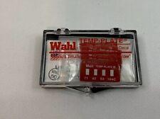 Non-Rev Temp Indicator,Mylar,PK10 WAHL 442-038C