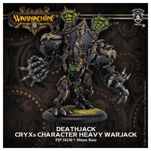 Warmachine Cryx Deathjack Character Heavy Warjack PIP34130 NEW SCULPT