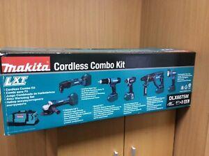 Makita DLX6075M 18V Cordless LXT Power Tool Combo Kit - 6 Piece