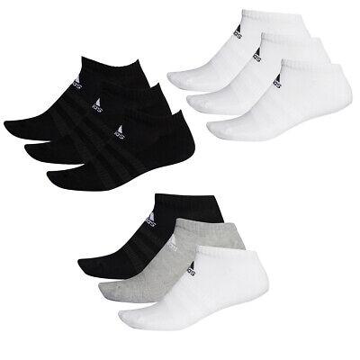 6 Paar adidas Performance No Show Sneaker Socken Gr 35-54 Unisex Kurzsocke