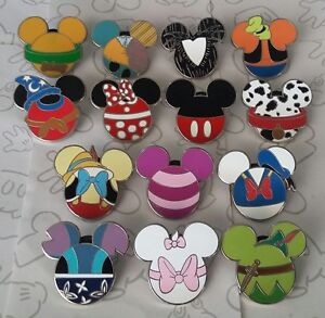 Mickey-Mouse-Icon-Mystery-Pouch-Disney-Characters-Set-Choose-a-Trading-Pin