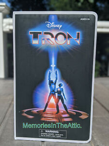 TRON VHS Action Figure ~ PX Exclusive ~ San Diego 2020 ~ UNOPENED Diamond Select