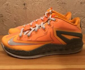 wholesale dealer a0ed6 f2829 Image is loading Preowned-Nike-Air-Max-Lebron-11-Low-Floridians-