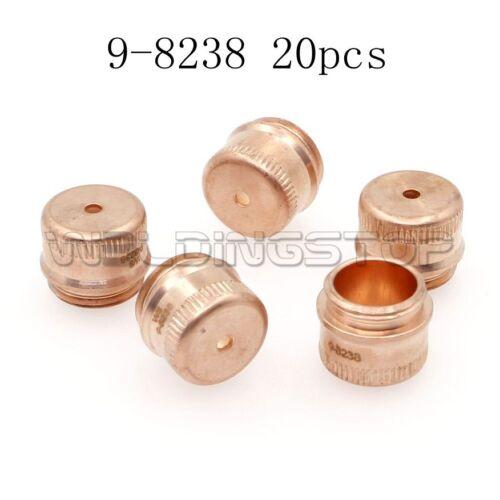 20pcs 9-8238 SL60 SL100 A120 Torch Shield Cap Plasma Cutter Consumables