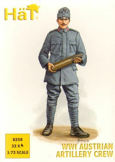 Hat - WWI Austrian artillery crew - 1:72