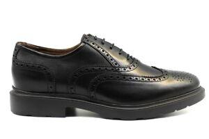 Nero-Giardini-A901151U-Nero-Stringate-Scarpe-Uomo-Stile-Inglese