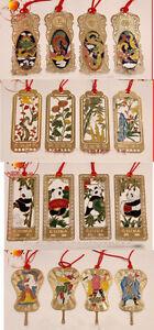 Wholesale40pcs-Chinese-Handmade-Classic-Cloisonne-Enamel-Bookmarks