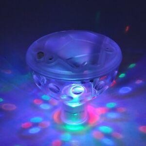 Floating / Underwater 5 LED Disco Light Swimming Pool, Hot Tub & Pond - Free P&P