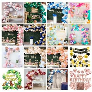 Confetti-Latex-Balloon-Arch-Kit-Garland-Wedding-Baby-Shower-Birthday-Party-Decor