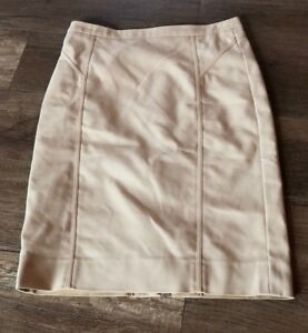 Skirt Pencil Euc Size Women's 4 Khaki Se Uk Per Carlisle 6 Iq4Rt