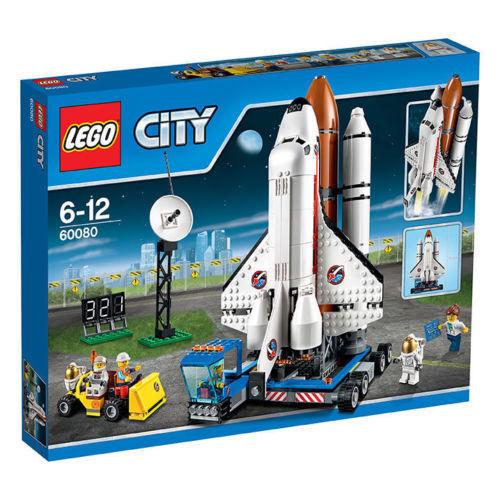 LEGO City 60080-missili stazione dello Space Shuttle NUOVO OVP