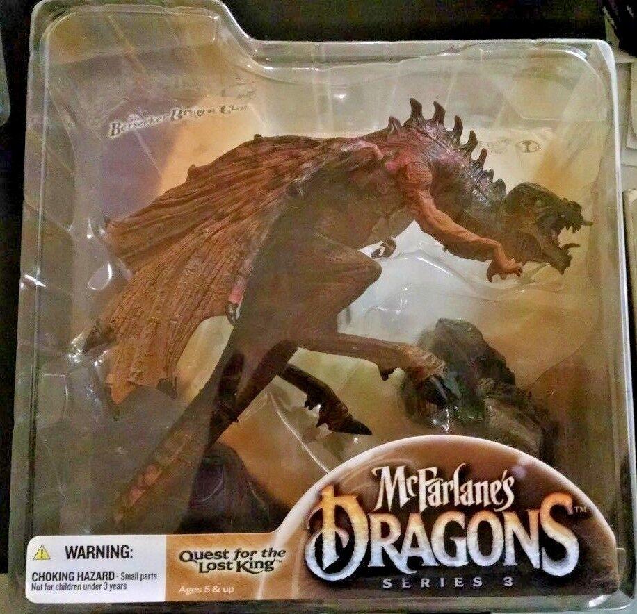 Mcfarlane drachen series 3 suche nach dem verschollenen könig berserker drachen - clan.