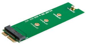 Adaptateur-carte-m-2-NGFF-ssd-Asus-zenbook-ux21-ux31-ux51-18-pin-convertisseur-carte