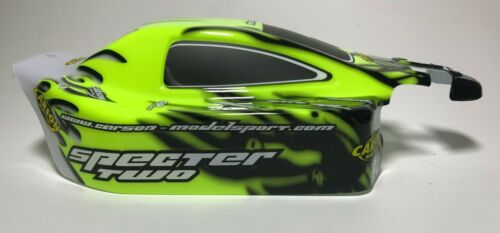 Fluo Jaune Specter Carson Carreau /& Spoiler Set SP Two carrosserie body 1:8 4x4 Buggy