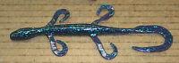 6 Pro Lizard Creature Bait Junebug Plastic 50 Pack Bulk Bass Worm